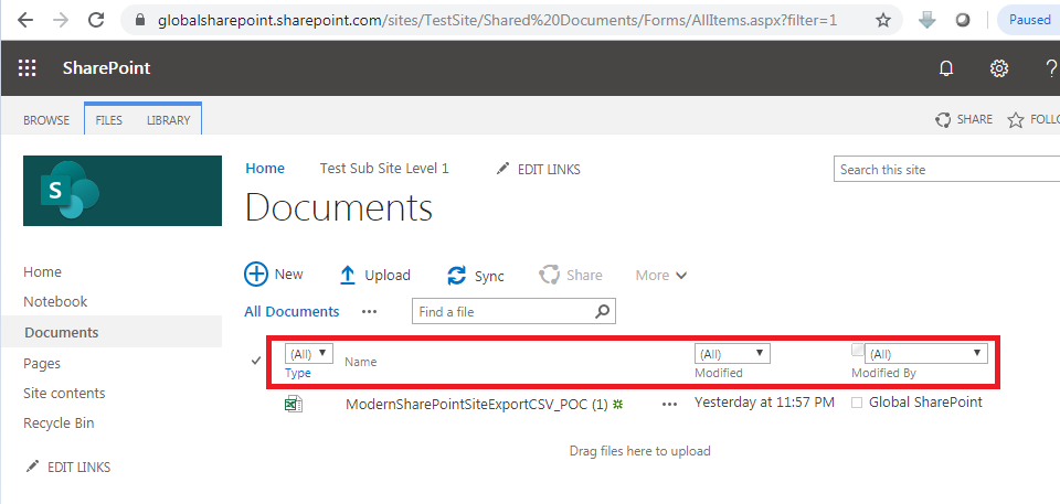 Enable Filter to the list view thru browser URL in SharePoint
