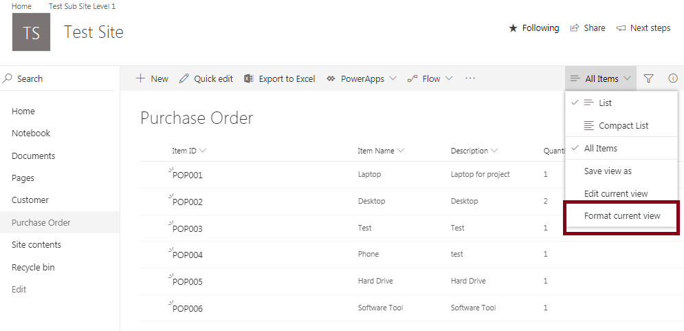 Tiles View In SharePoint Online