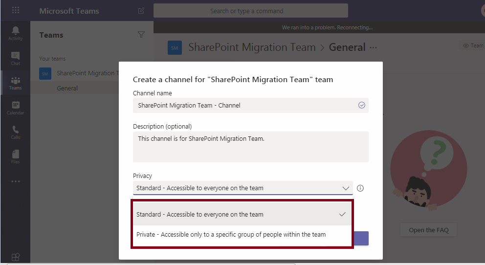 Microsoft Teams-Channel-SharePoint Integration2