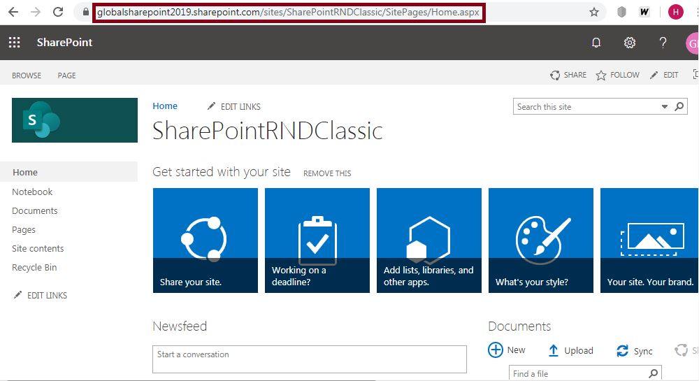 home.aspx classic page to modern page: Convert classic SharePoint site page to modern page