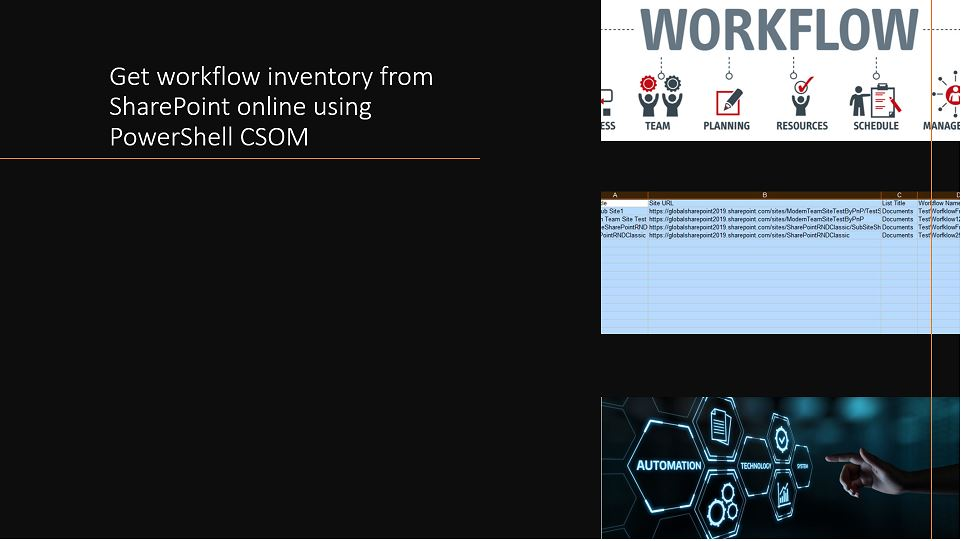 Get workflow inventory from SharePoint online using PowerShell CSOM