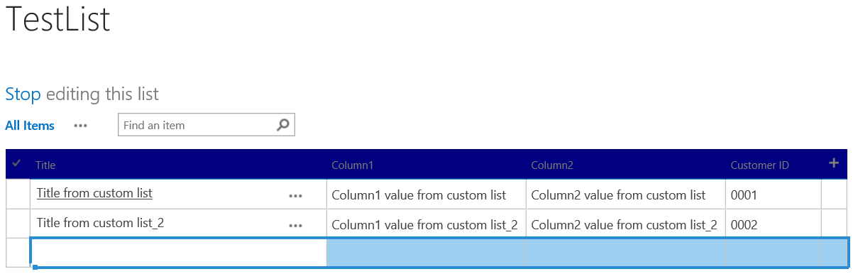 Formatted column in SharePoint Quick Edit view,after adding the CSS