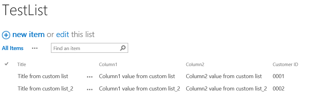 SharePoint List view formatting - Default look of SharePoint list view