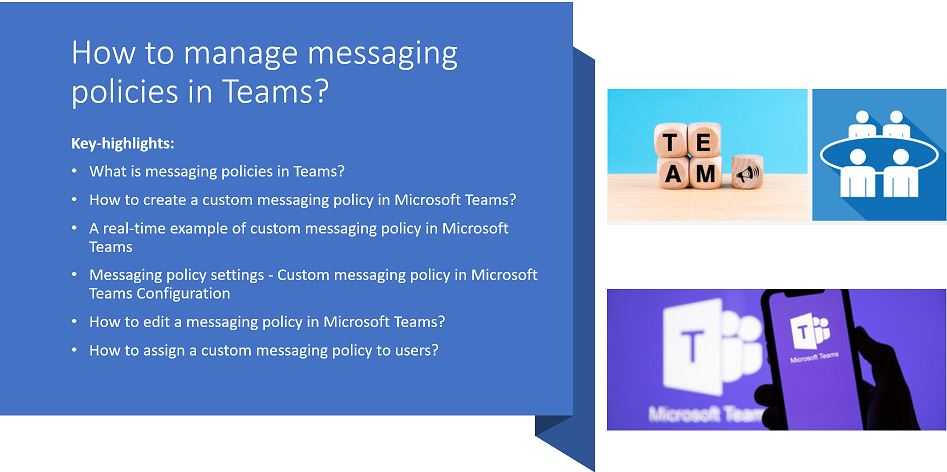How to manage messaging policies in Teams?
