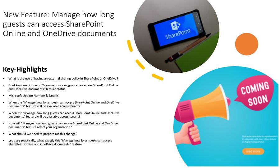 New Feature - Manage how long guests can access SharePoint Online and OneDrive documents