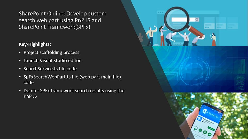 SharePoint Online: Develop custom search web part using PnP JS and SharePoint Framework(SPFx)