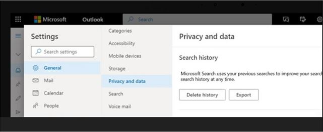 Improving Microsoft Search with personal query history