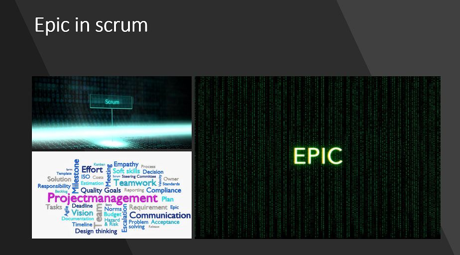 Epic in Scrum Project