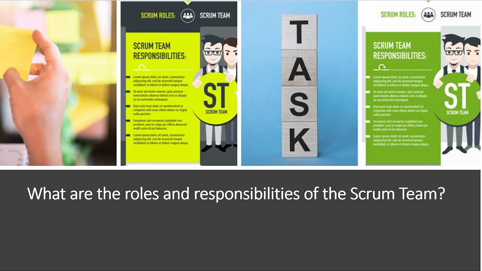 Roles and responsibilities of the Scrum Team