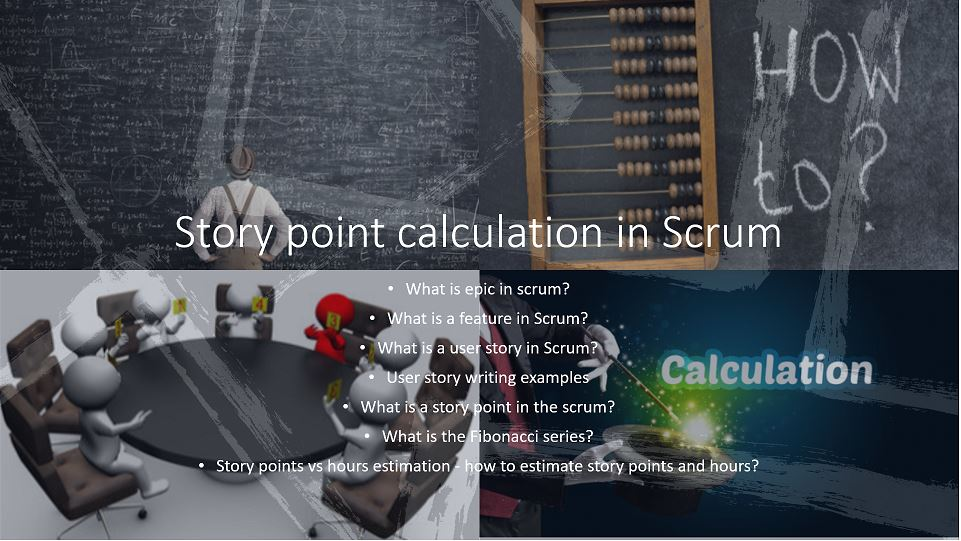 Story point calculation in Scrum