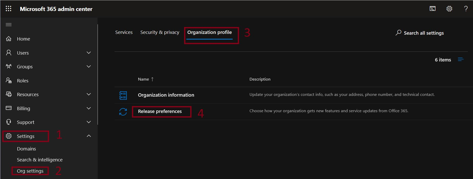 Choose how your organization gets new features and service updates from ‎Office 365