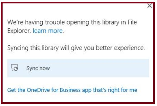 Syncing this library will give you a better experience - sync now