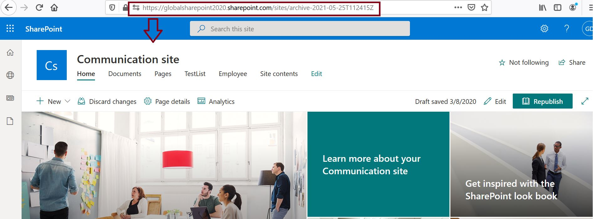 SharePoint Online tenant root site has been archived after swapping