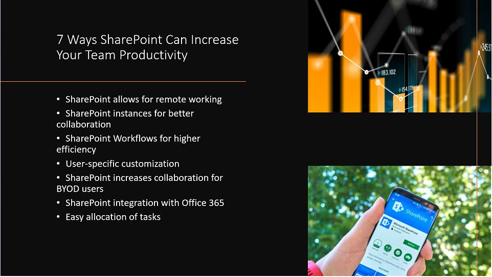 7 Ways SharePoint Can Increase Your Team Productivity